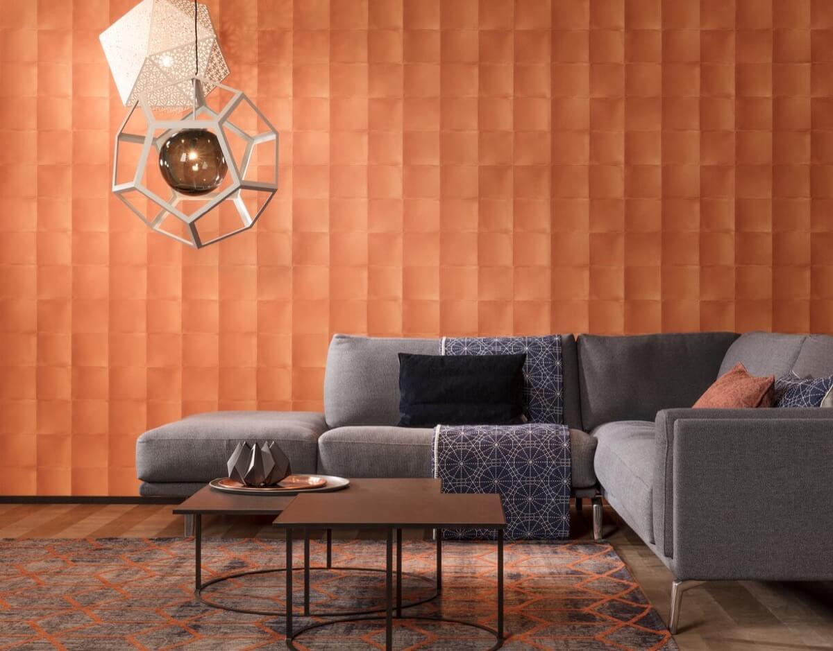 Behang Verschillende Interieurstijlen : Tintto trend gespot origamibehang in je interieur met tintto