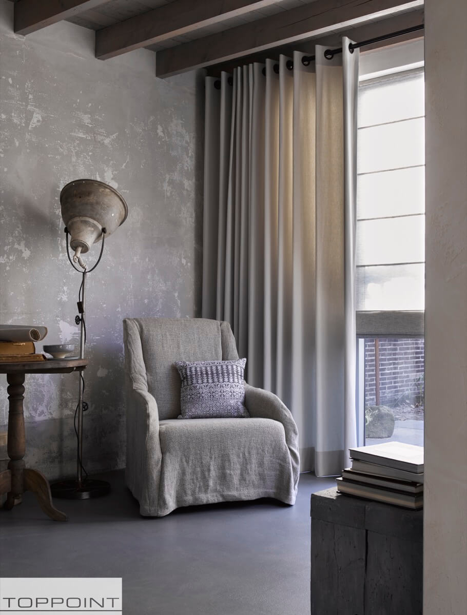 Tintto | De perfecte stof voor gordijnen en vouwgordijnen door Toppoint